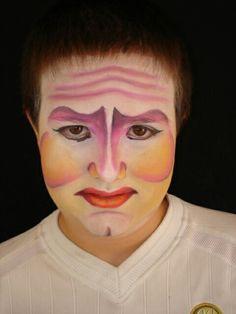 Oficina de Maquiagem Artística - Cirque du Soleil. Professor: Fernando Pompeu ( 2005).