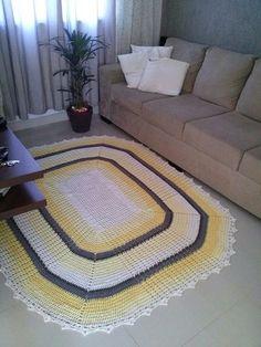 Grüner teppich br  96 besten tapetes de crochê Bilder auf Pinterest | Teppiche ...