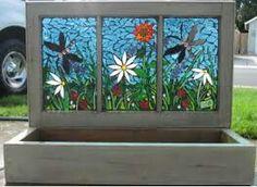 3 panel mosaic