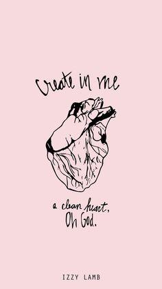 iPhone wallpaper #cleanheart #bibleverse #wallpaper