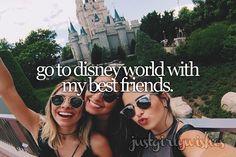Bucket list: Go to Disney World with my best friendsSubmit a wish here
