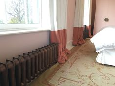 Sloane Cast Iron Radiator in Antiqued Copper Paint Effect Copper Paint, Cast Iron Radiators, Paint Effects, Paladin, Antique Copper, Home Appliances, Antiques, Bed, Furniture