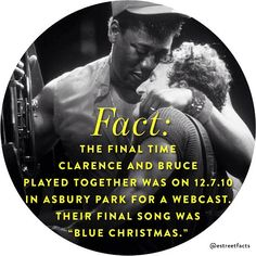 Bruce Springsteen and Clarence Clemons David Bowie, Elvis Presley, Bruce Springsteen Quotes, E Street Band, Born To Run, Bob Seger, Easy Listening, Music Like, Jersey Girl