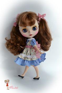 set for Blythe. for Blythe/Pullip  dolls clothes.Dress