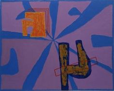 Jonathan Lasker, 3 Card Monte, 1984 Oil on canvas, 60×75 inches