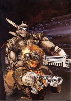 Appleseed -- one of the best manga series I've ever read; it's pretty hard to top any of Masamune Shirow's work.