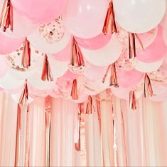 #balloons #pink #partydecor