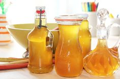 Mælkebøttesirup_flasker