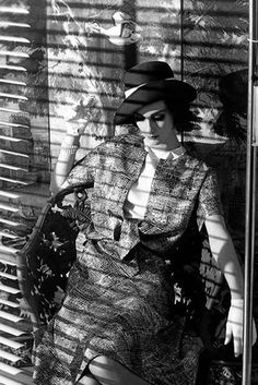 Judy Dent photographed by Frank Horvat