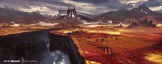 Halo Wars 2, Jan Urschel on ArtStation at https://www.artstation.com/artwork/ORD0J