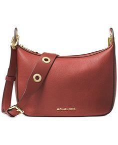 MICHAEL Michael Kors Raven Medium Messenger - Handbags & Accessories - Macy's