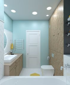 Fabulous bathroom design with colorful theme. Do you like it?