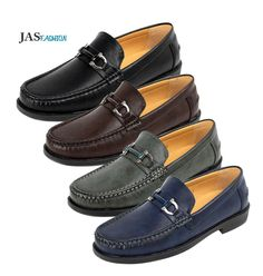 Mens Slip On Shoes Loafers Moccasin Smart Designer Fashion Work Casual Size 6-12