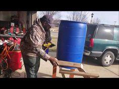 Building a 55 gallon Barrel Strawberry Planter for 50 Plants Strawberry Planters, Strawberry Garden, Barrel Planter, Tower Garden, 55 Gallon, Deck With Pergola, How To Make Diy, Flower Planters, Urban Farming