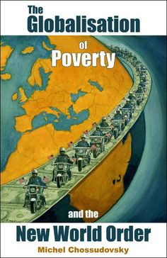 """The Globalisation of Poverty - the author outlines the contours of a New World Order which feeds on human poverty and the destruction of the environment, generates social apartheid, encourages racism and ethnic strife and undermines the rights of women. The result as his detailed examples from all parts of the world show so convincingly, is a globalization of poverty."""