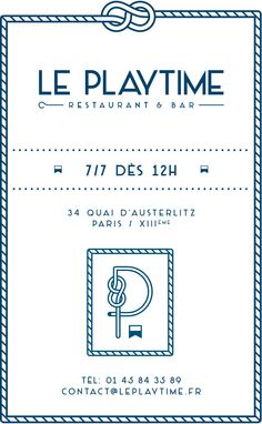 Le Playtime – Restaurant & Bar