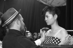 Cat Foley Survival Survival London Fashion Week LFW Fyodor Golan SS16 Backstage Behind the Scenes