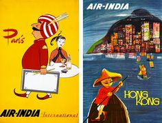 Air India posters