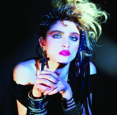 The punk rock look ( Madonna's 80s )