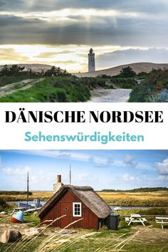 (Advertisement) Danish North Sea: The best sights on the North Sea coast in Denmark – the most beautiful activities and highlights such as the beach, lighthouse, surf course, hotel or restaurant. Europe Destinations, Beach Trip, Vacation Trips, Road Trip, Denmark Travel, Reisen In Europa, North Sea, Nightlife Travel, Culture Travel
