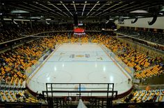 Amsoil Arena, Duluth, MN. Home of the UMD Bulldogs hockey team!