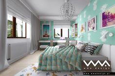 teen bedroom | pokój nastolatki | www.wmadesign.pl
