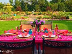 Tablescape Tuesday: Colour My World! – Everyday Living
