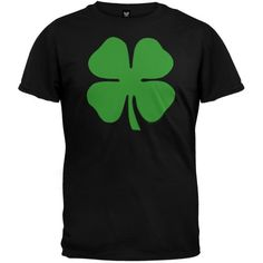Large Shamrock T-Shirt - Medium