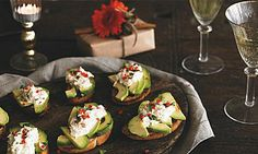 Crab & Avocado Crostini - https://www.yeovalley.co.uk/our-recipes/recipe/crab-avocado-crostini