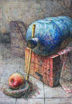 Watercolor And Ink, Watercolor Paintings, Watercolors, Color Pencil Art, Beautiful Paintings, Pencil Drawings, Colored Pencils, Sketches, South Korea