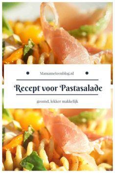 Recept voor pastasalade mamameteenblog.nl #sidedish #maindish #hoofderecht #koken