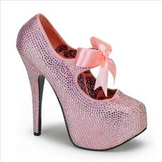 Pink Sparkle Bordello Stiletto   #hotbachelorette
