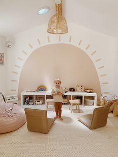 Playroom Mural, Playroom Design, Kids Room Design, Modern Playroom, Playroom Furniture, Playroom Paint, Playroom Flooring, Kids Room Murals, Playroom Ideas