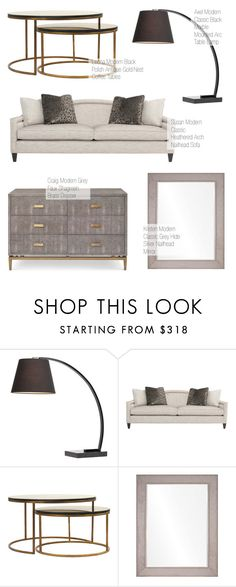 """""""Modern Classic Decor"""" by kathykuohome ❤ liked on Polyvore featuring interior, interiors, interior design, home, home decor, interior decorating and modern"""