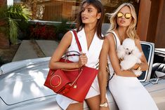 Taylor Hill and Romee Strijd for Michael Kors Spring '17.