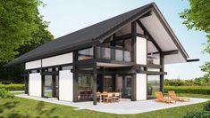 фахверковые дома проекты Landscape Architecture Design, Small Cottages, Wooden House, Log Homes, Gazebo, Tiny House, House Plans, Beach House, Townhouse