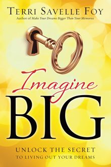 "In today's world, it can be difficult to envision a future that is successful, purposeful, prosperous, stable, meaningful and even lucrative. However, as Terri Savelle Foy shares in IMAGINE BIG, we cannot allow what we see happening today to limit what we can imagine God doing for us supernaturally in our lives. Imagine Big will show you how to turn the what ""ifs"" into what ""is"". Today can be the beginning of everything God wants you to be and do!"