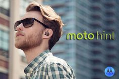 Moto Hint, almost invisible bluetooth headset