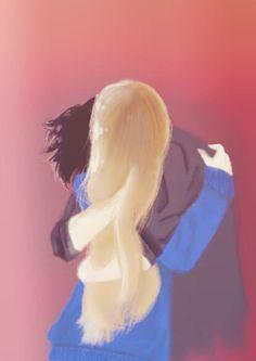 "Juuzou hugging ""me"", it's a Draw made by myself, hope ypu like it ;)"