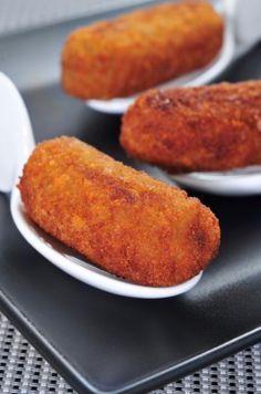 Croquetes de carne com batata
