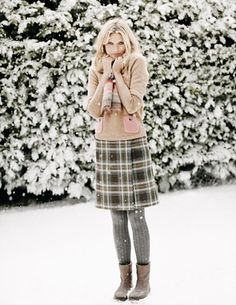 British Tweed Kilt WG561 Mini at Boden