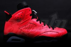 Air Jordan 6 Retro Infrared 23 New Detailed Pictures