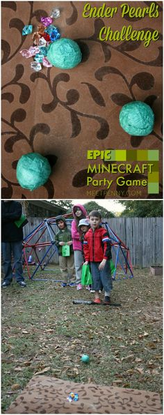 Love these Minecraft party games!  This is the best Minecraft birthday party I have seen and all of the Minecraft party ideas are completely doable without spending a small fortune. She includes Minecraft party printables and has great ideas for Minecraft party decorations, games, and more!