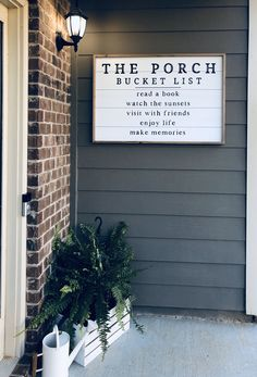 Home Reno, Porch Decorating, My Dream Home, Future House, Home Projects, Home Remodeling, Farmhouse Decor, Outdoor Living, Sweet Home