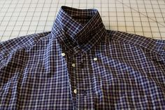 using shirts for quilting - how to cut for the most fabric