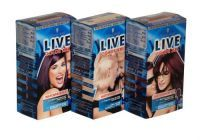 £4.29 - Schwarzkopf Live Color Xxl Waterproofed Hair Colour  Maximum colour intensity for extra rich, permanent and intense colours full of healthy shine. Now with Pomegranate and Vitamin C.  Kit contains:  1 tube of creme, 1 application bottle with developer lotion, 1 tube of conditioner, 1 applicator tip, 1 pair of gloves and instruction leaflet.