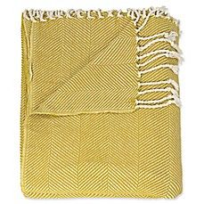 Mina Victory by Nourison Cotton Throw Blanket