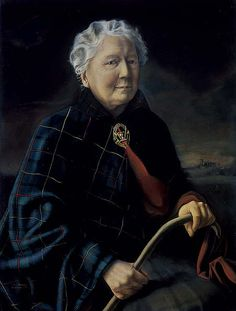 Dennis Ramsay Dame Flora MacLeod of MacLeod, 1878 - 1976. 28th Clan Chief 1960 © Francis Dennis Ramsay, his family and descendents National Gallery of Scotland
