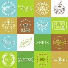 Labels and Badges Vector Template #design Download: http://graphicriver.net/item/labels-and-badges/11612082?ref=ksioks