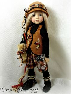 Caramel Confection for Dianna Effner Little Darlings | Flickr - Photo Sharing!